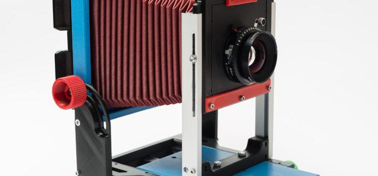 4×5 GF Kamera – Prototyp 1