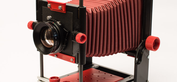 4×5 GF Kamera – Prototyp 2